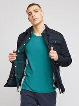 Blouson polyester col chemise
