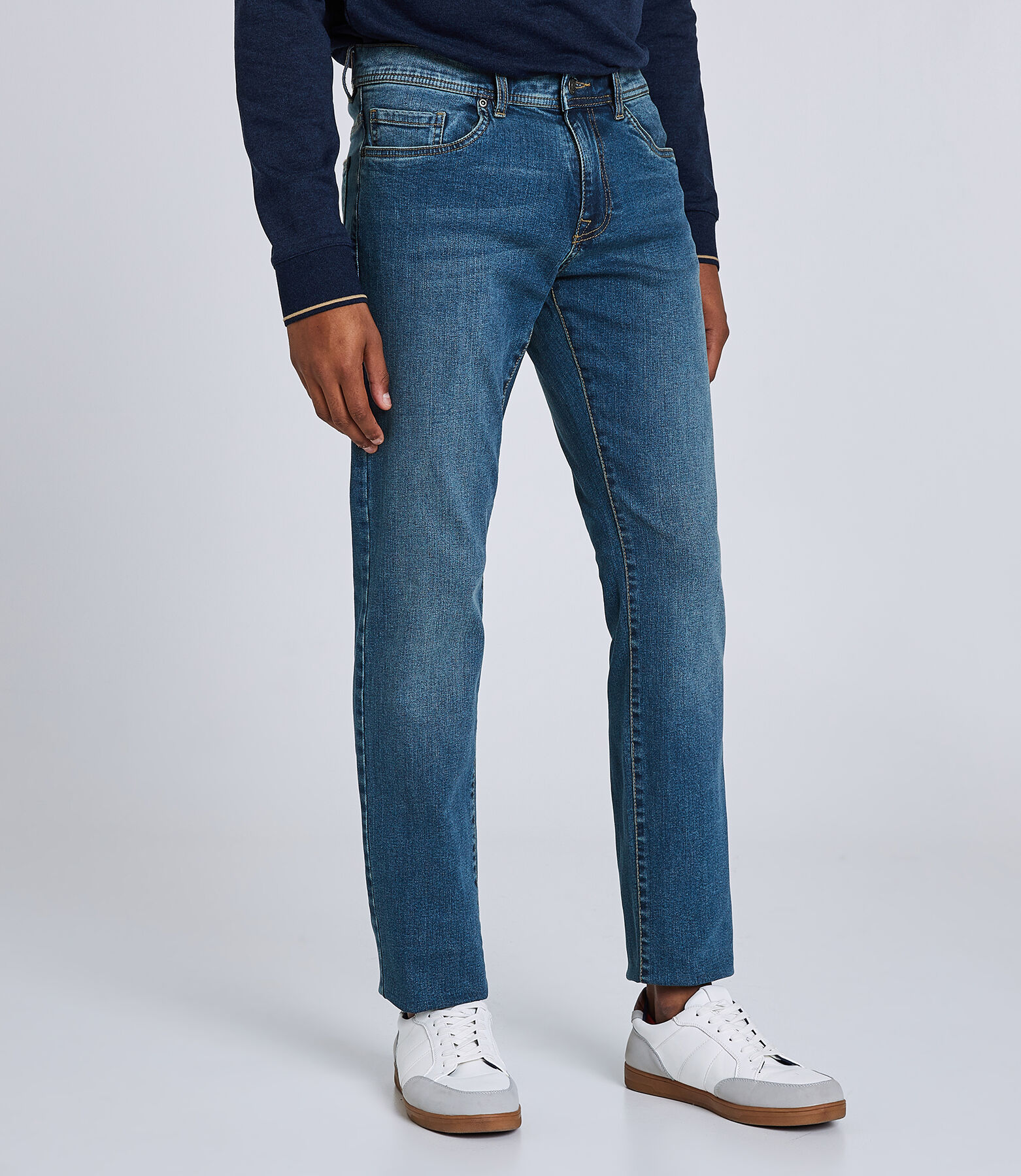 Jean straight Ben bleu