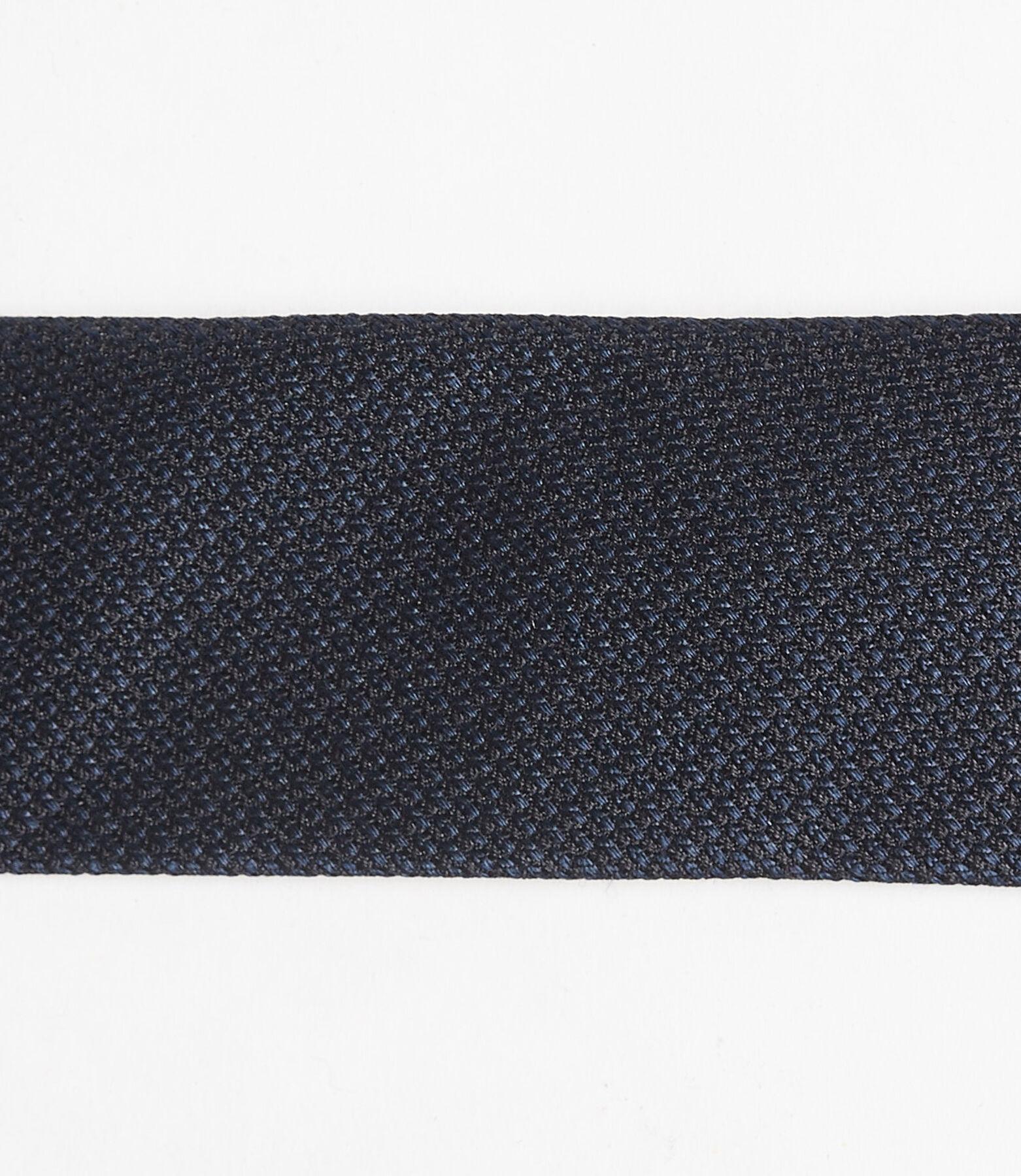 Cravate slim en soie