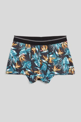 Boxer imprimé tropical