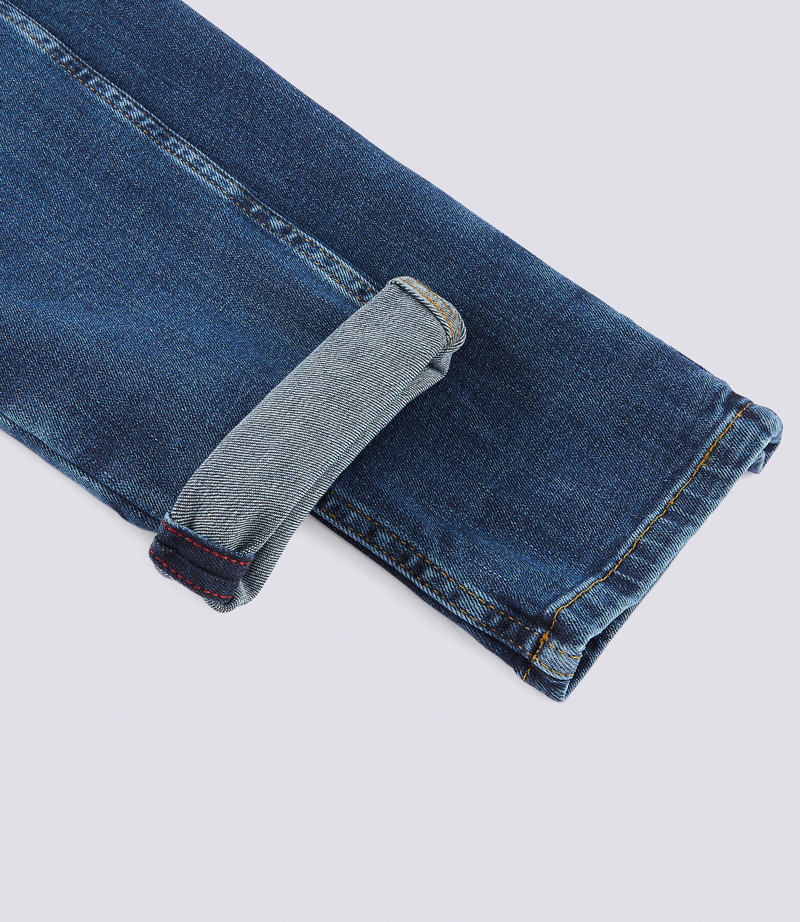 Jean skinny 4 longueurs bleu lavé