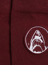 Chaussettes  brodées Les dents de la mer