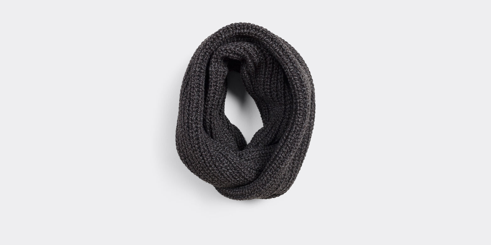 Snood mouliné