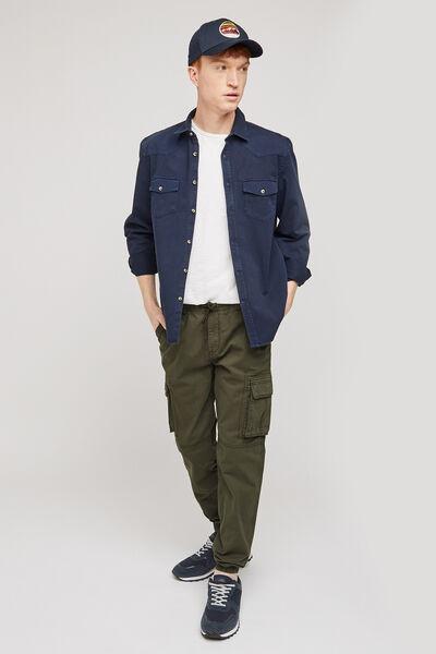 Pantalon cargo slim