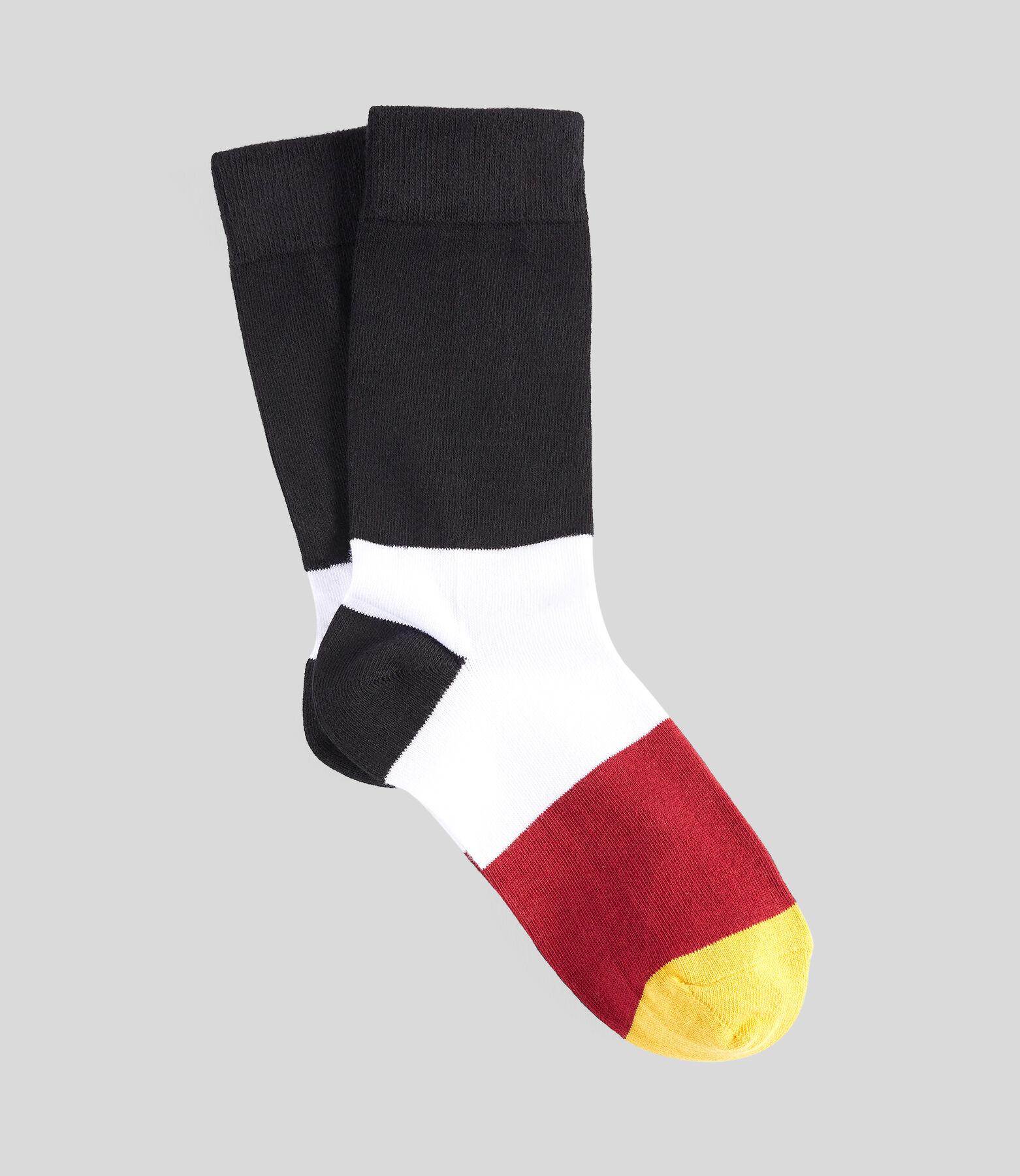 1 paar getwijnde sokken makirol