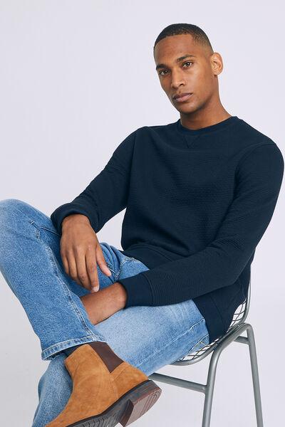 Sweatshirt quilt all-over