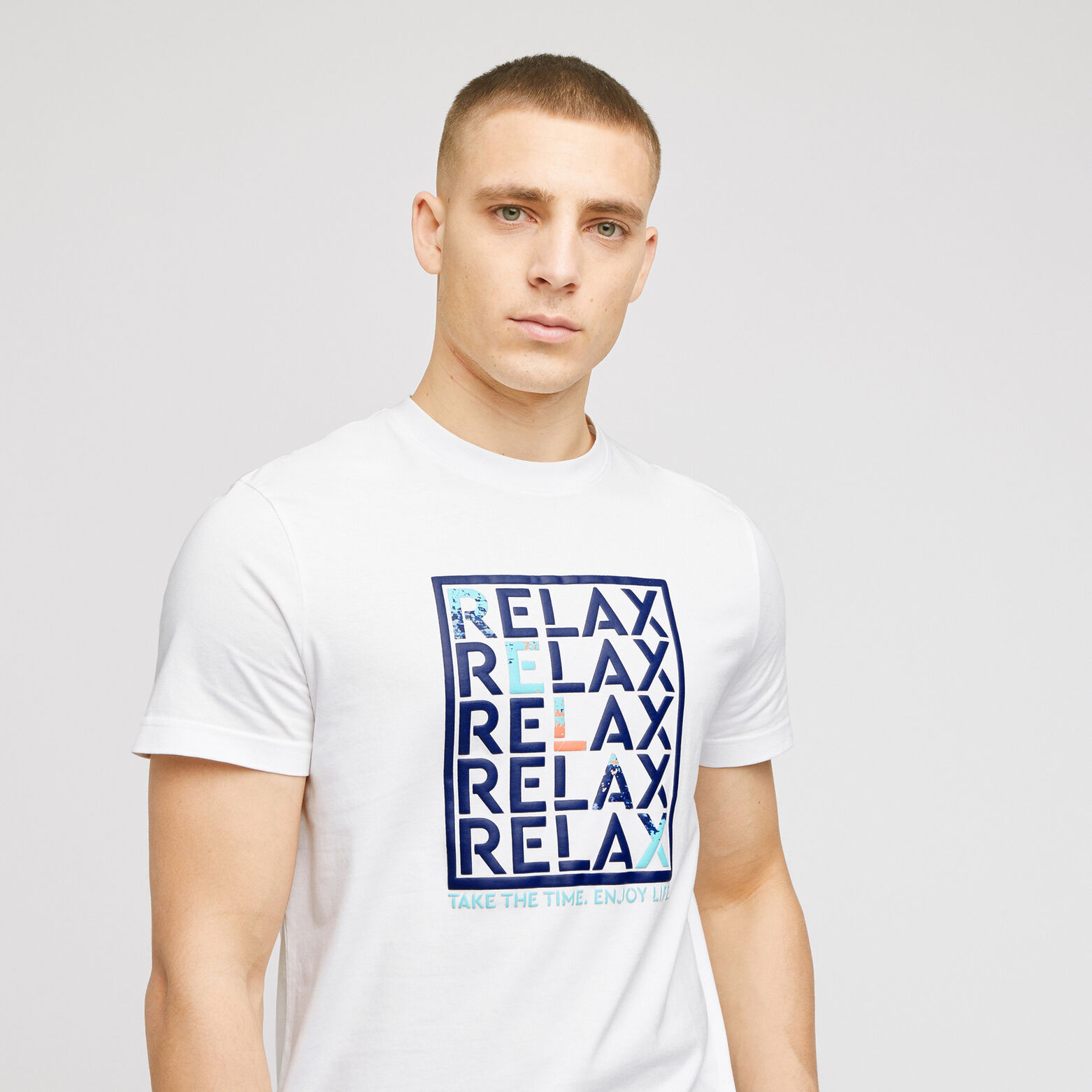 Tshirt manches courtes col rond  RELAX