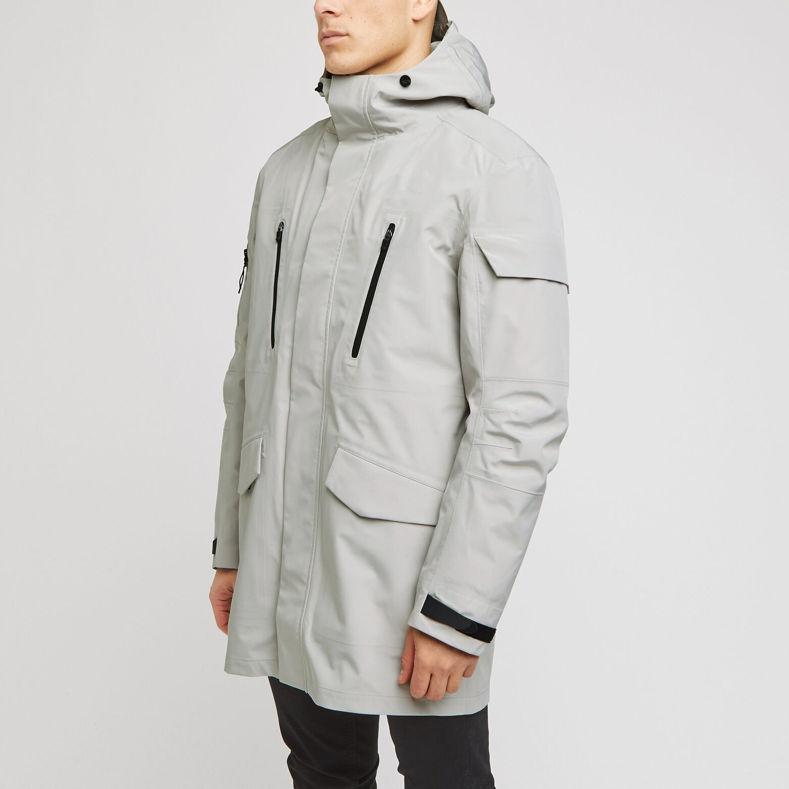 Parka technique 3 en 1 en polyester