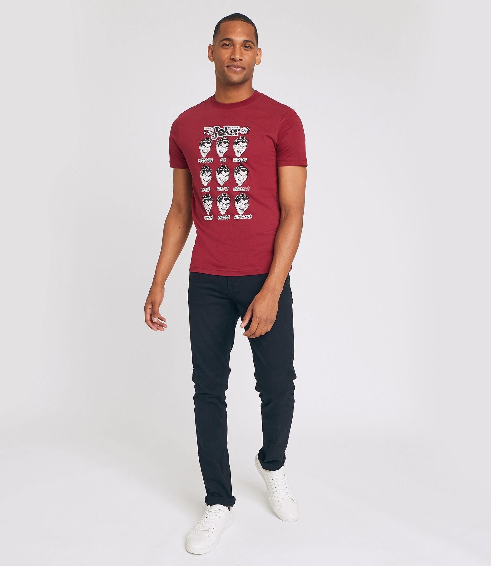Tshirt col rond et manches courtes JOKER