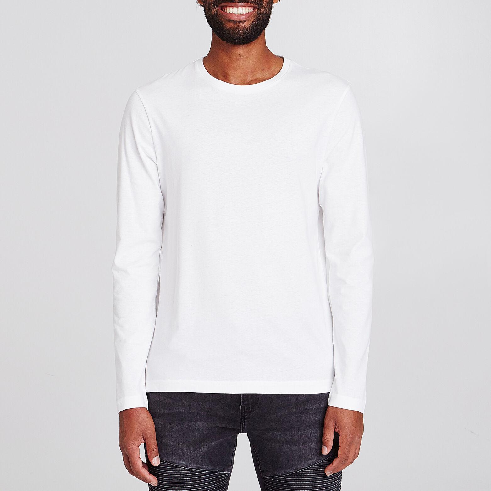 Tee-shirt col rond uni