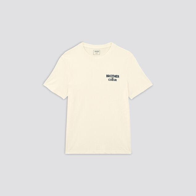 Tee-shirt imprimé BROTHER DE COEUR