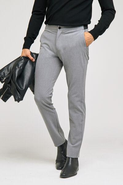 Pantalon slim bi stretch uni