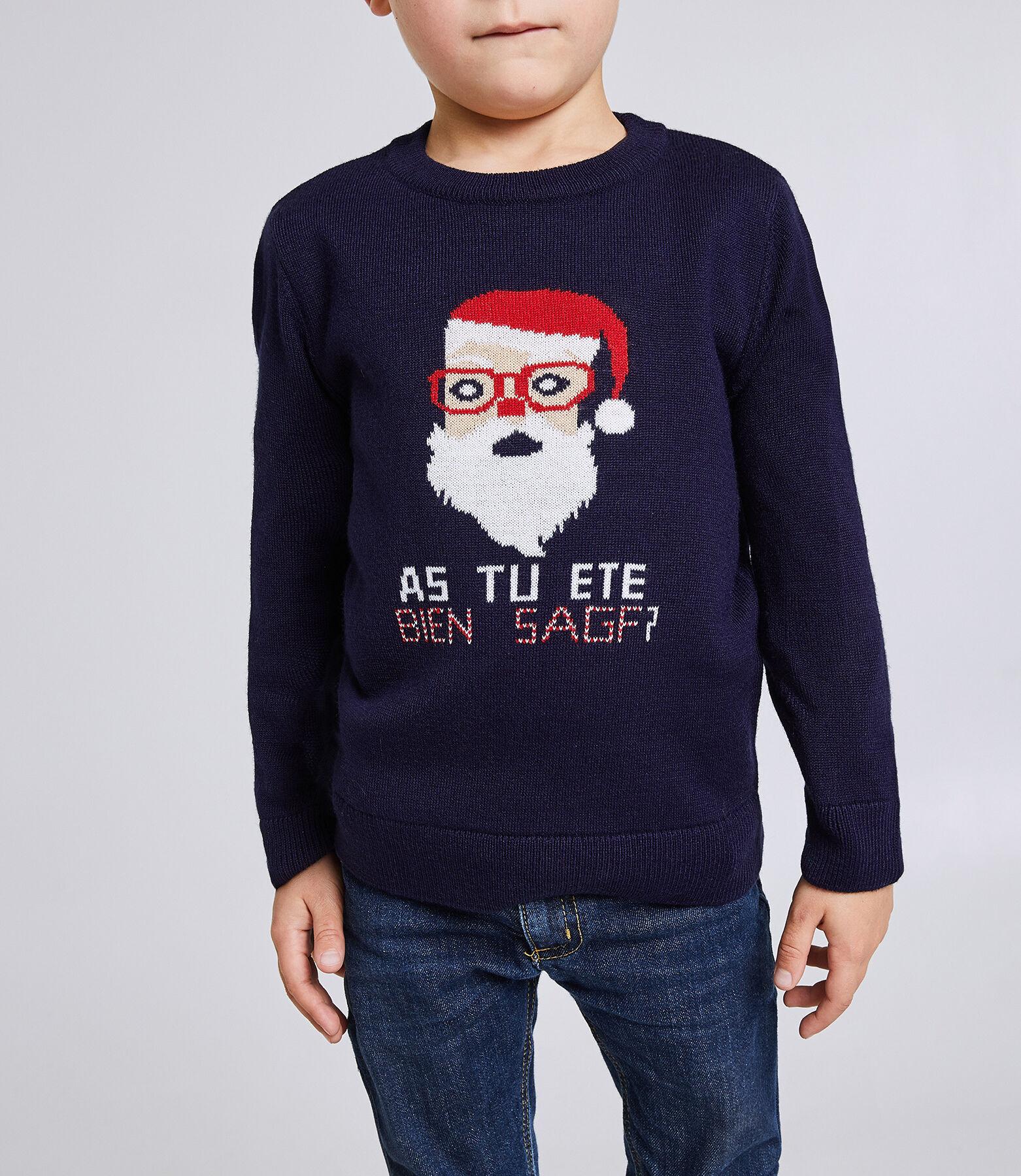 Pull de Noël col rond