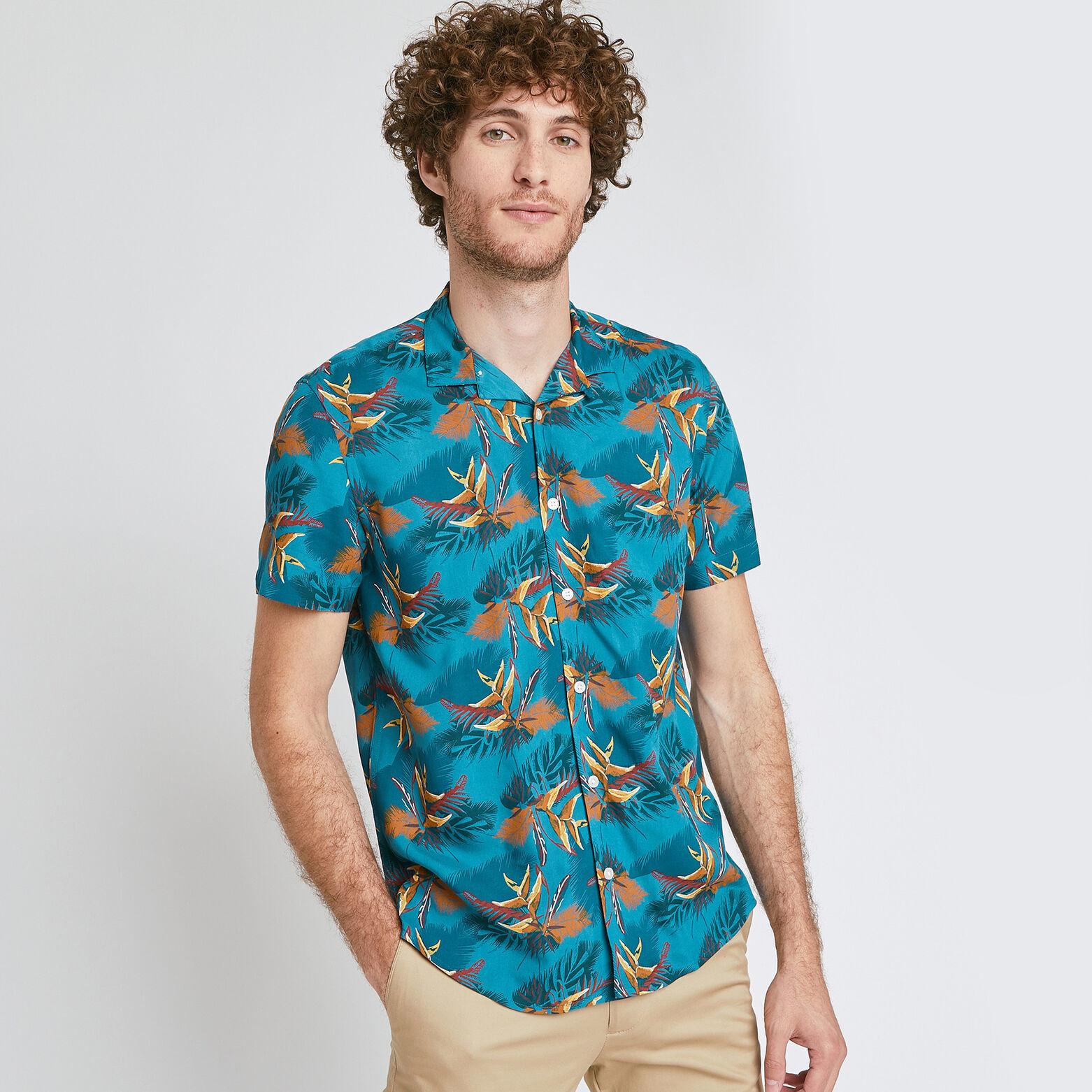 Chemise hawaïenne regular viscose
