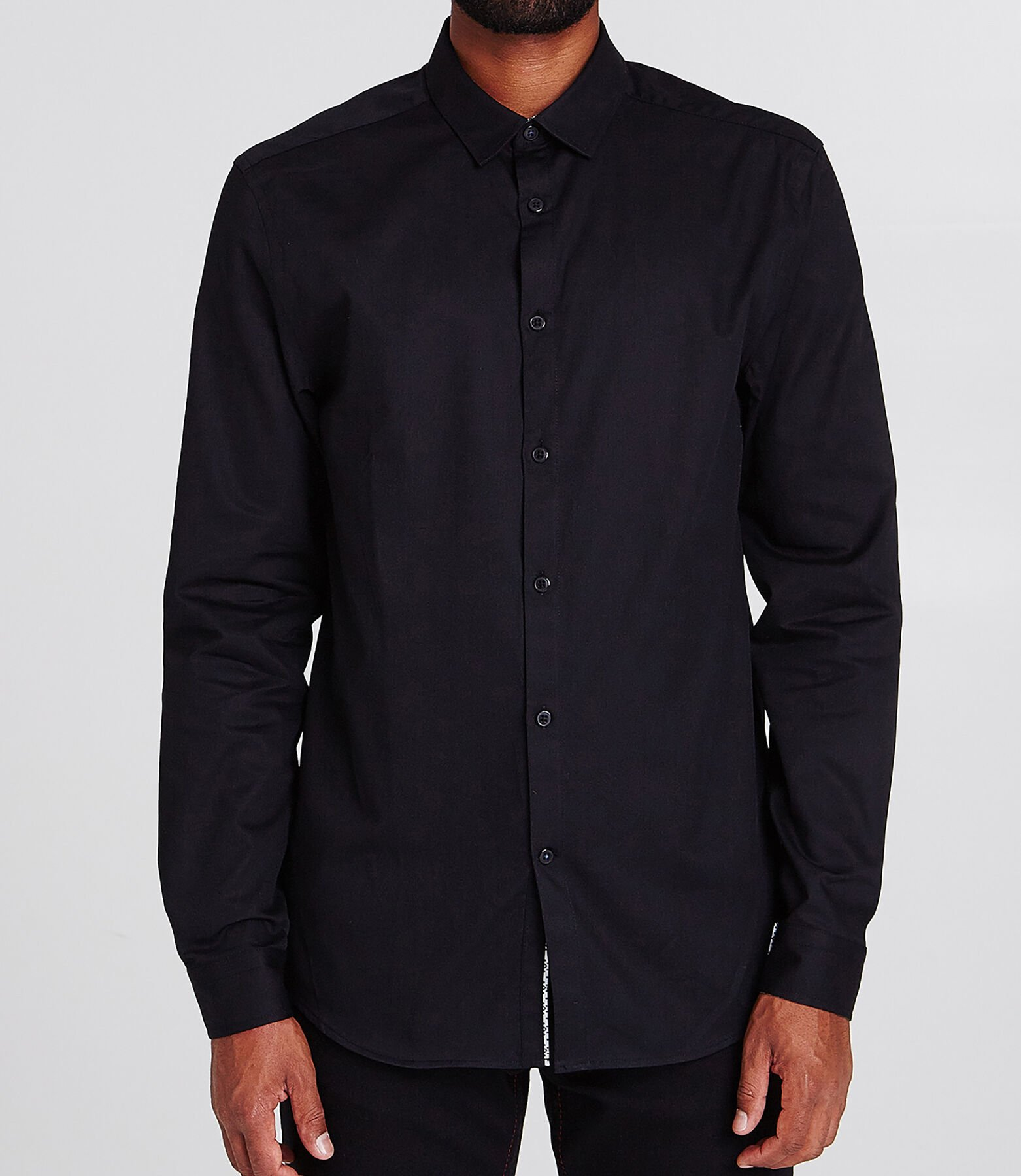 Chemise coupe Regular armurée