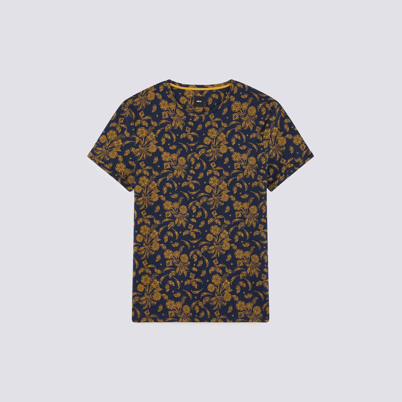 T-shirt all over grosses fleurs