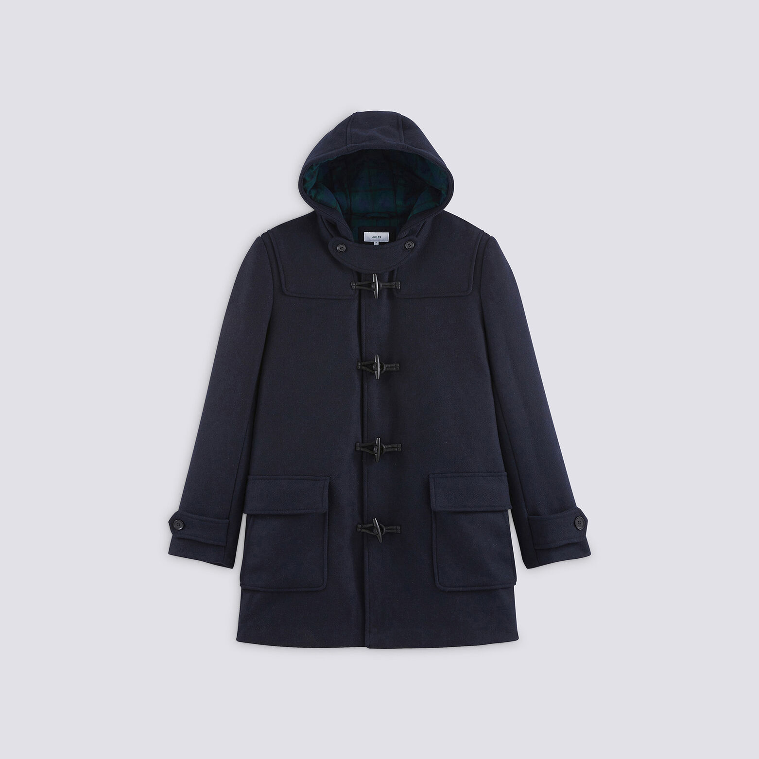 Ensemble manteau bonnet jean