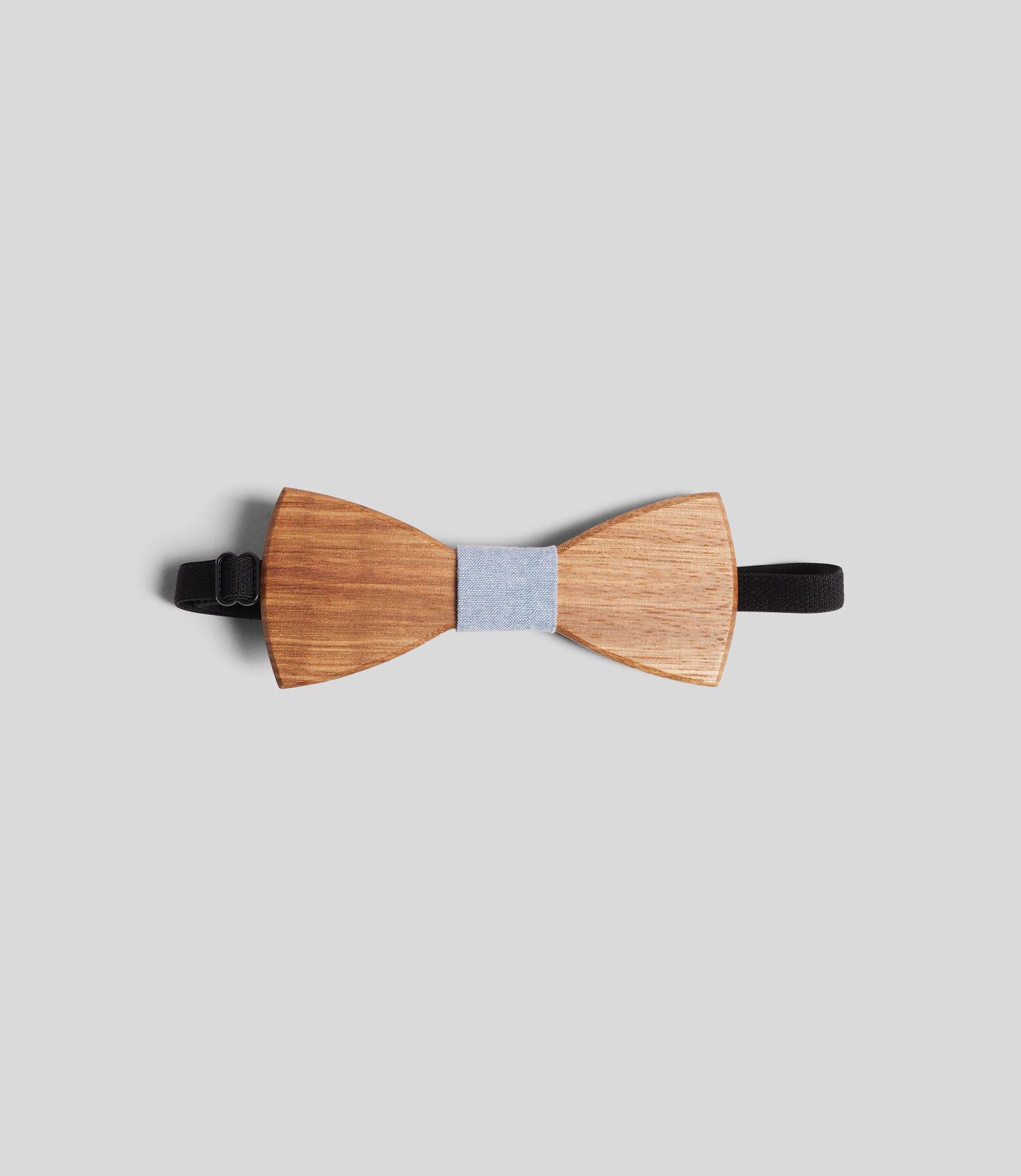 Nœud-papillon en bois