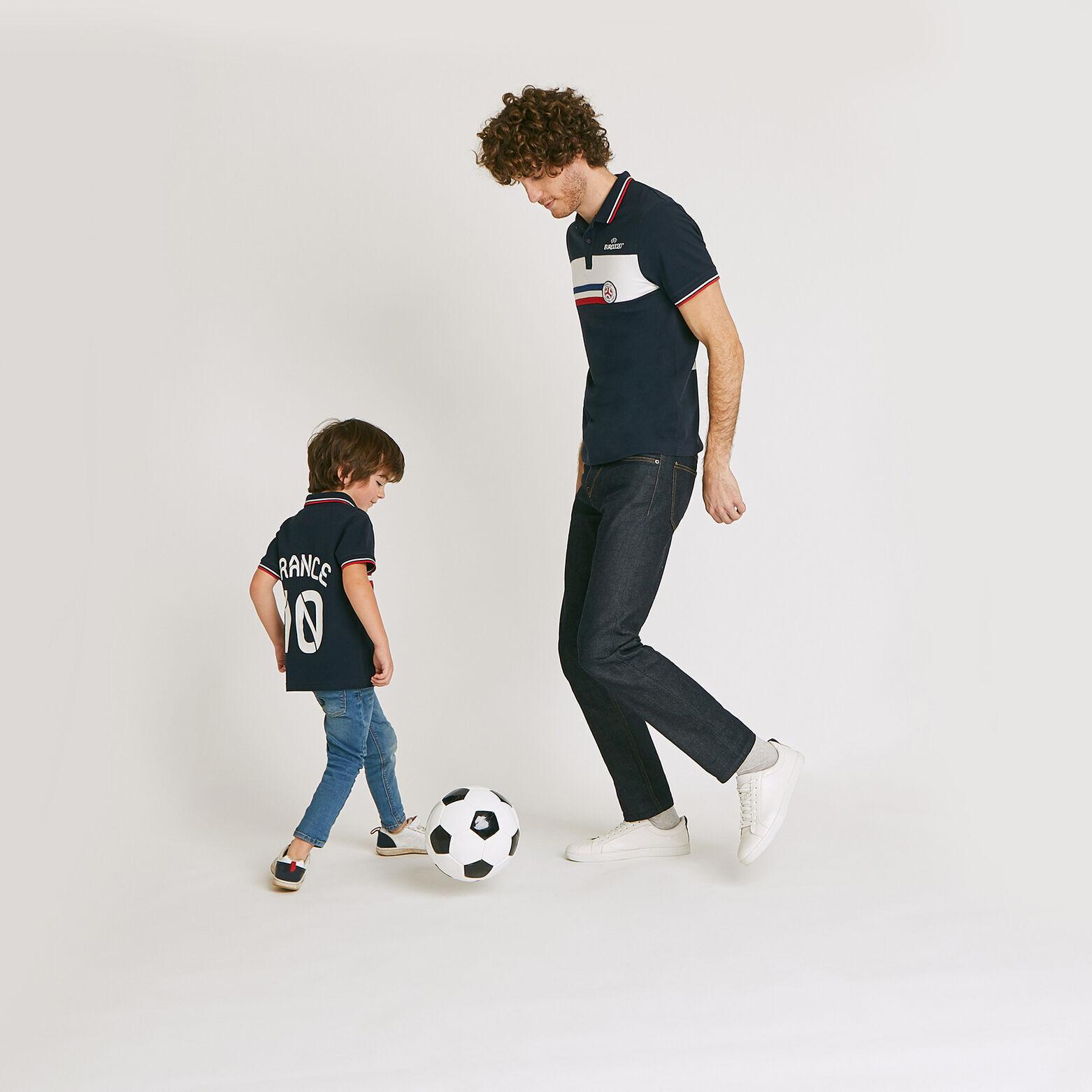 Ensemble Mini moi Polo UEFA EURO - Bleu Marine