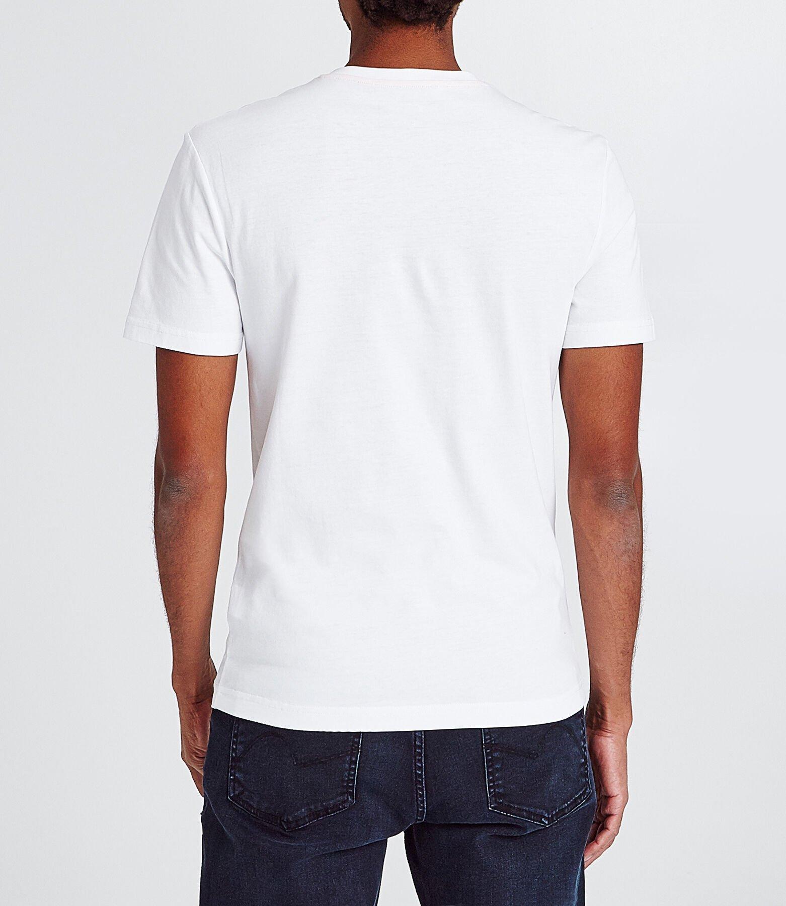 T-shirt slim avec print graphique
