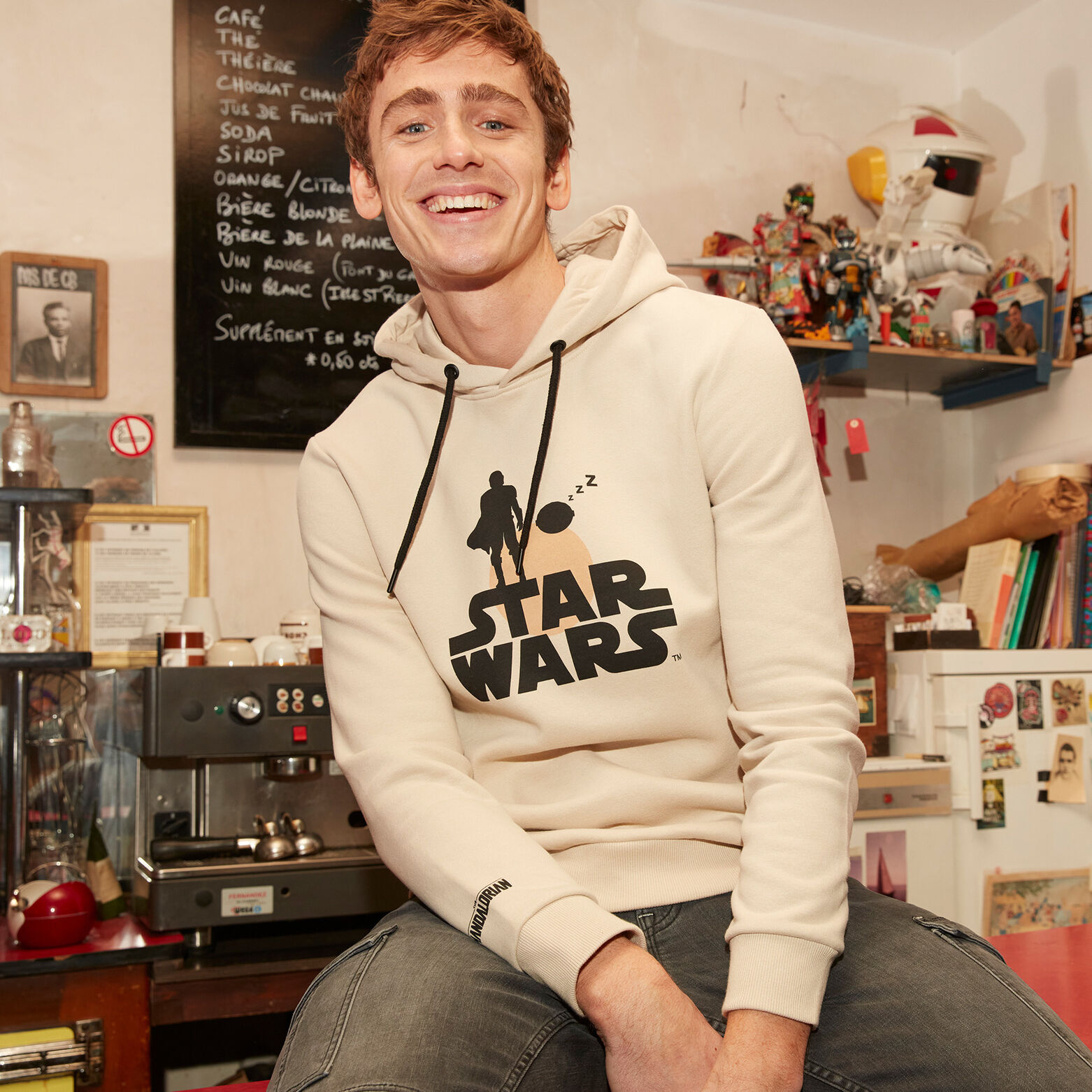 Sweat à capuche Star Wars avec polyester recyclé