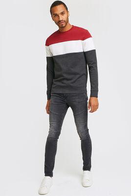 Jean skinny biker - noir lavé