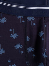 Boxer motif palmiers