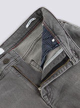 Jean straight #Alex 4 longueurs gris