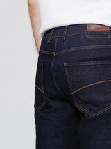 Jean regular fermeture zippée