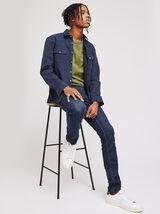 Jean slim #Tom urbanflex 4 longueurs foncé