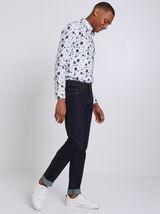 Ruwe slim jeans