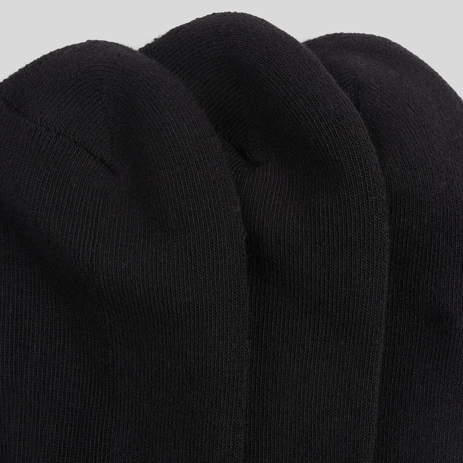 Lot de 3 paires de chaussettes en coton issu de l'