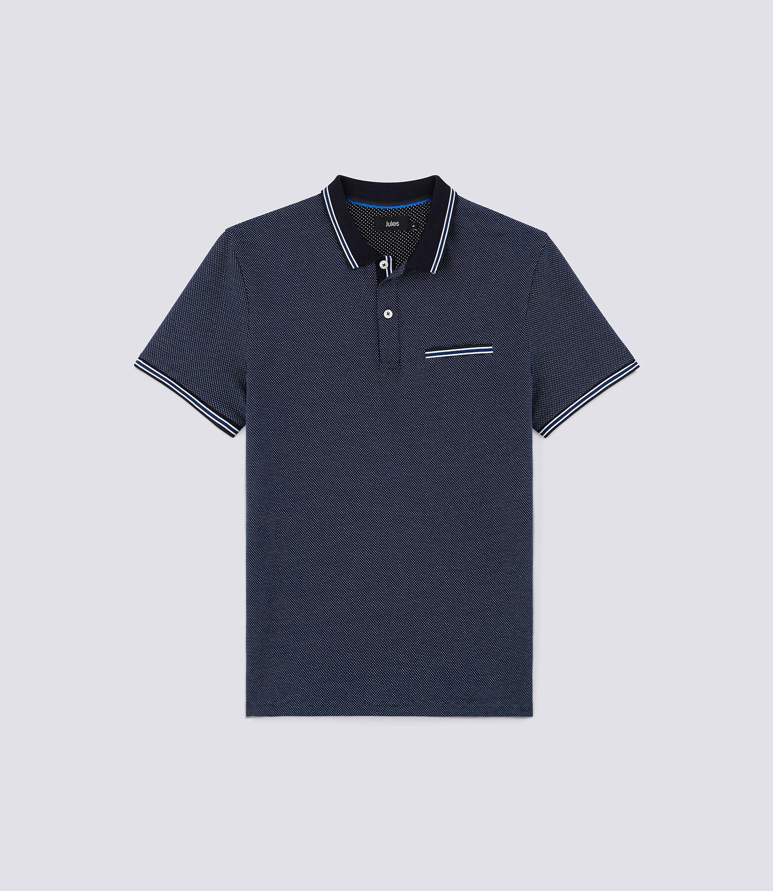 Polo Bleu Indigo