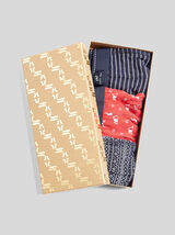 Lot de 3 boxers motifs noël