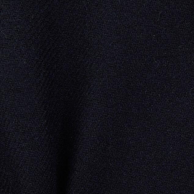 Veste en laine bleu marine