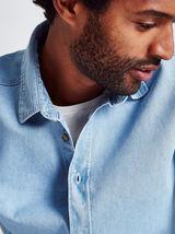 Chemise en jean coupe regular