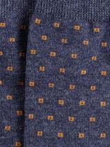 Chaussettes unitaires à motifs