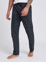 Pantalon de pyjama motif ours