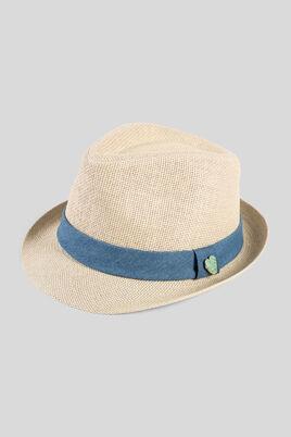 Chapeau de paille avec pin's
