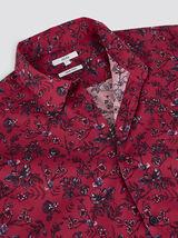 Chemise regular à fleurs coton