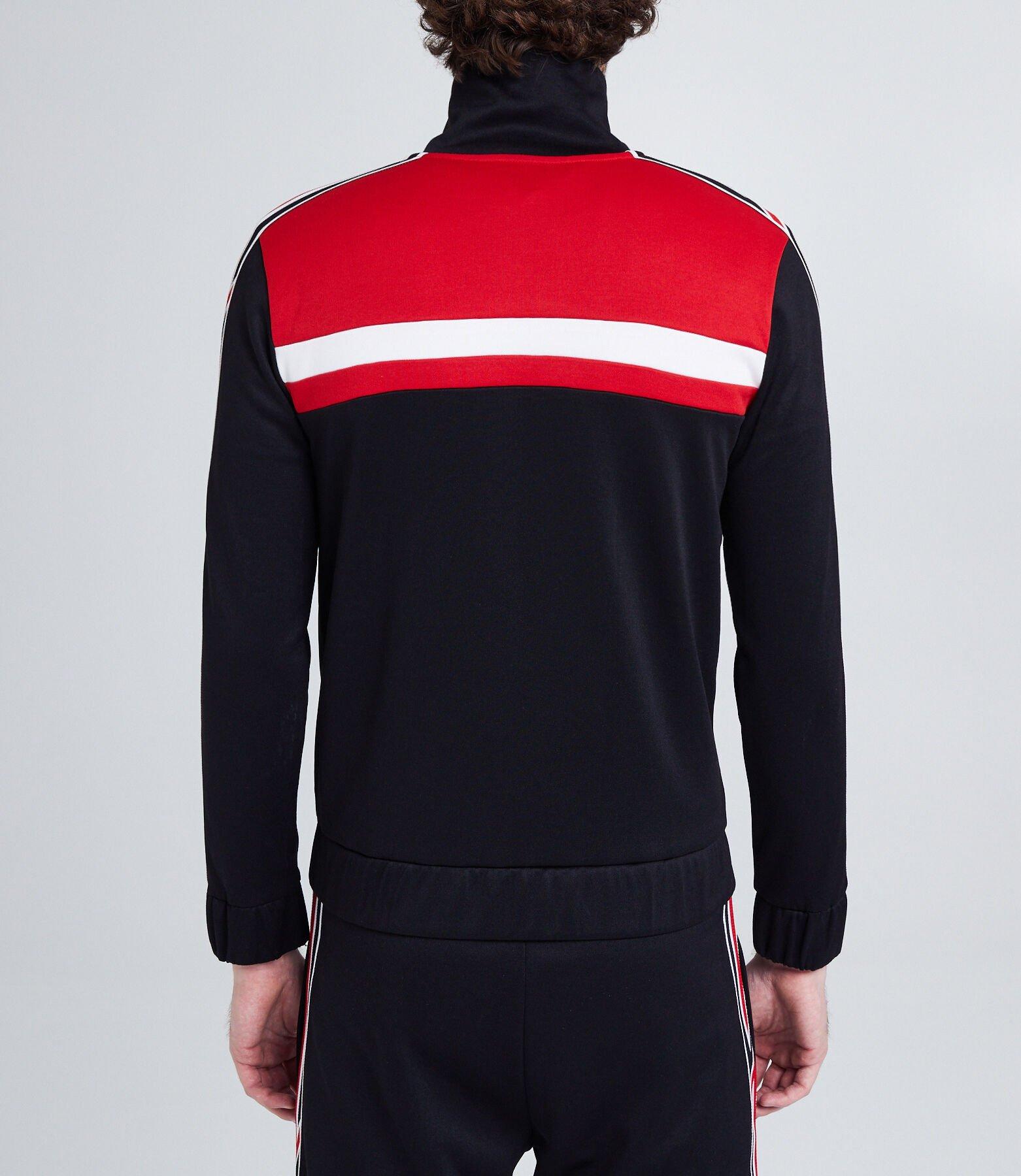 Veste de survêtement color block zippée