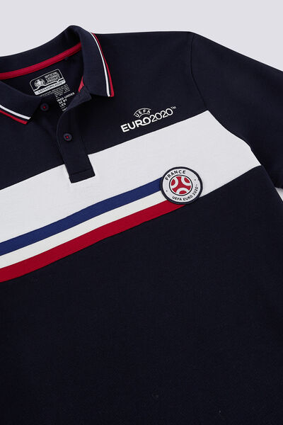 Polo sous licence officielle UEFA EURO 2020 color