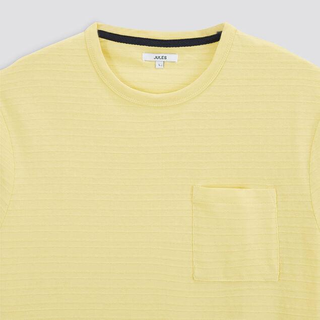 Tee-shirt matière reliéfée