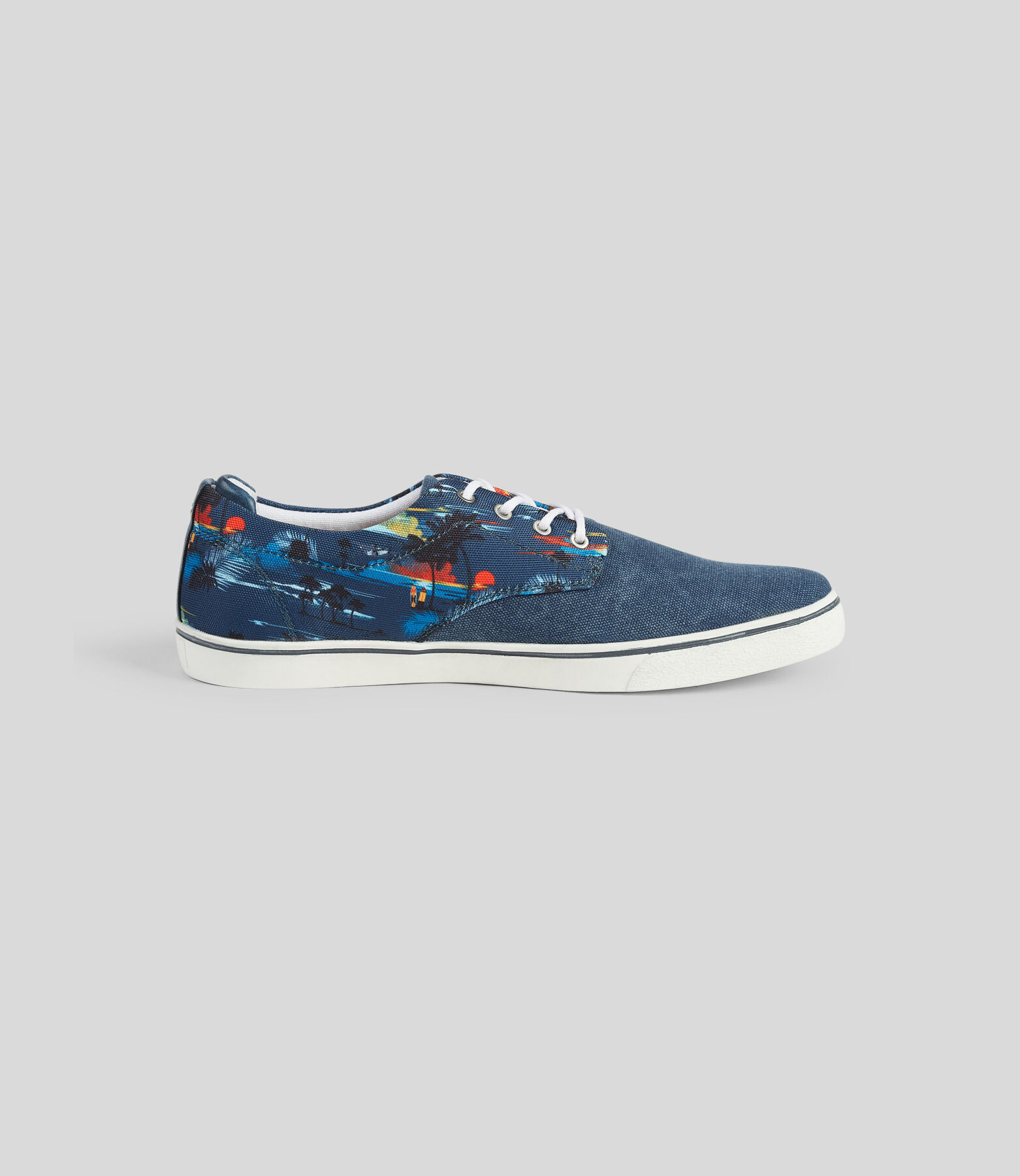 Chaussures Bleu Fantaisie