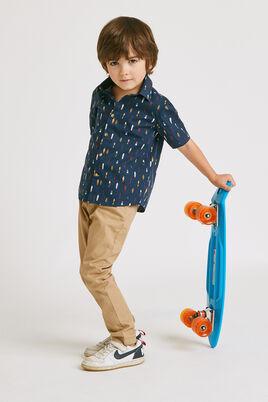 Chemise manches courtes regular pour enfant
