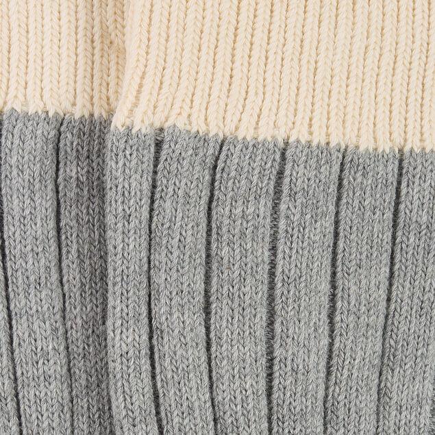 Chaussettes grosses jauges coton issu de l'agricul