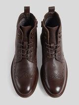 Boots montantes fleuries
