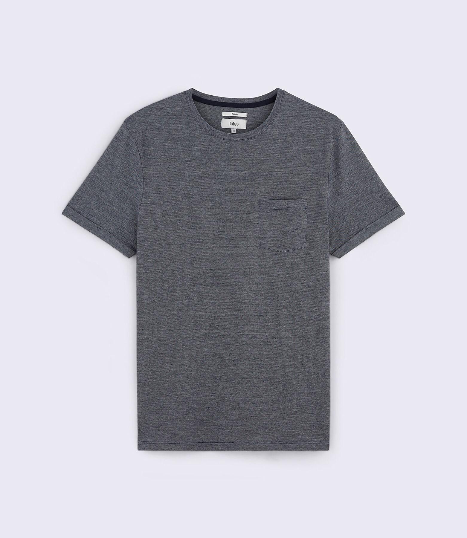 T-Shirt Bleu Marine Fantaisie