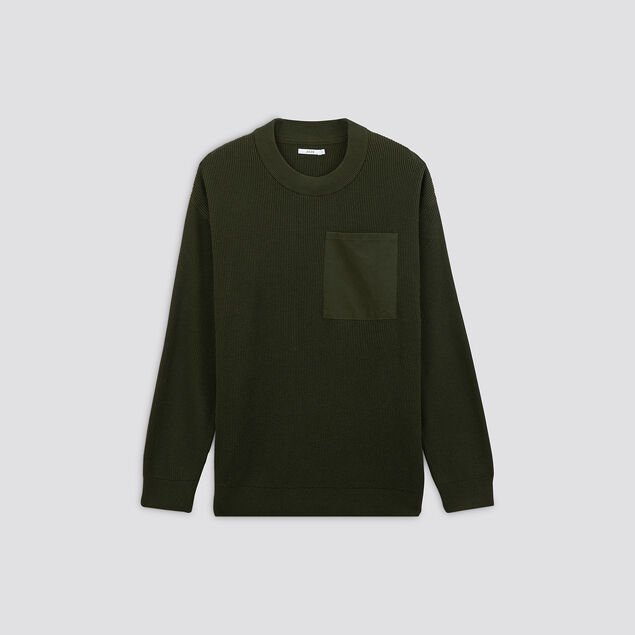 Pull col rond oversize