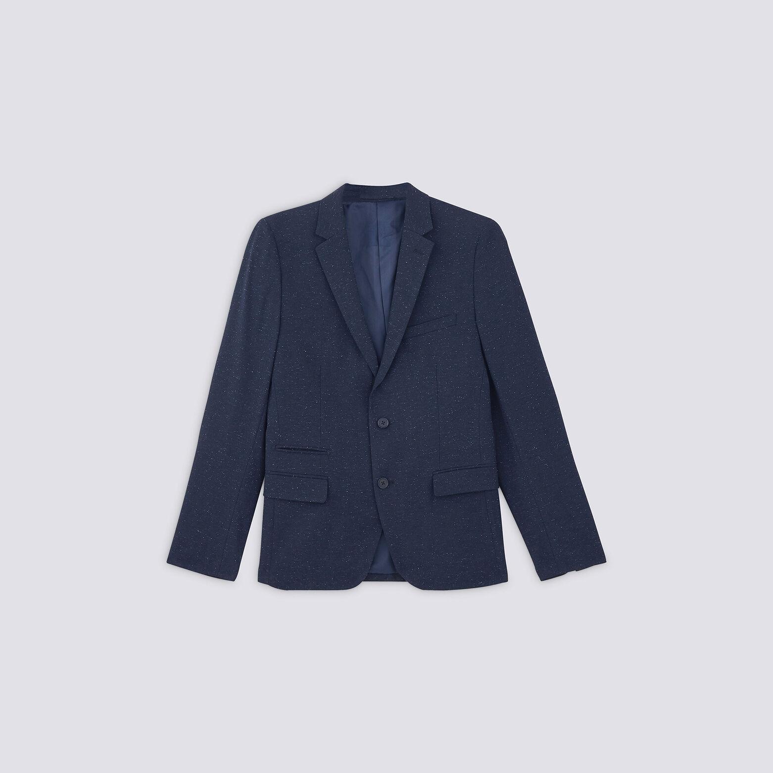 Veste de costume avec neps